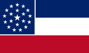 One proposal for a new Mississippi state flag. Source: Wikipedia