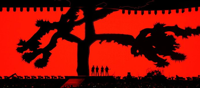 U2 during the opening concert of the global The Joshua Tree Tour 2017 in Vancouver